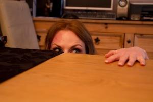 Melanie Denholme's eyes