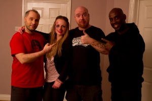 Ryan Hunter, Melanie Denholme, David V G Davies, Rudy Barrow