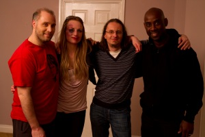 Ryan Hunter, Melanie Denholme, Michael Haberfelner, Rudy Barrow